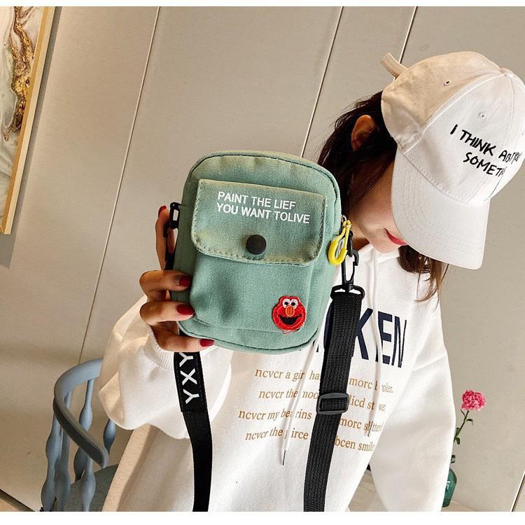 Túi đeo chéo nữ nhỏ mini cá tính đi chơi đẹp TX39