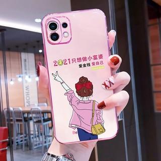 Ốp Điện Thoại Hình Trái Tim Xinh Xắn Cho Xiaomi 11 11 Pro 11 Pro