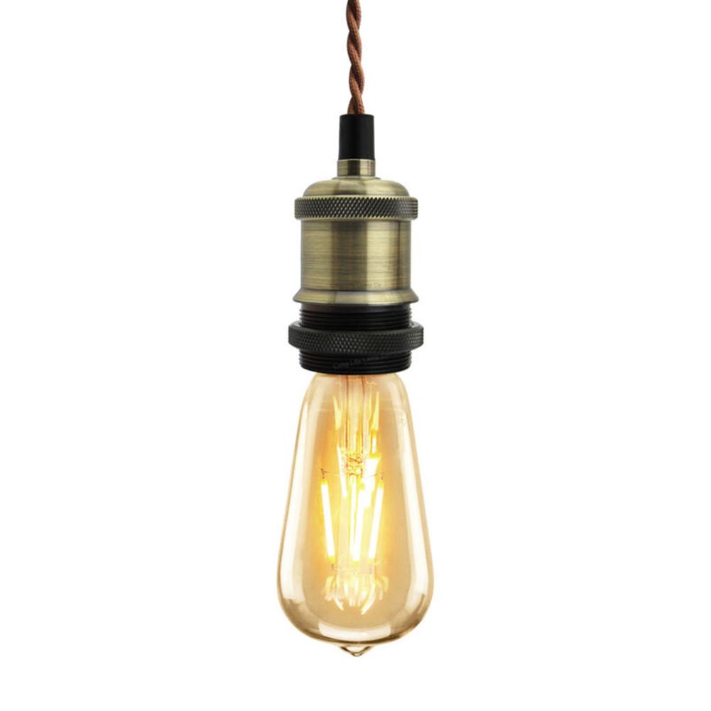 Giá Đỡ Đèn Gắn Trần Nhà Phong Cách Vintage