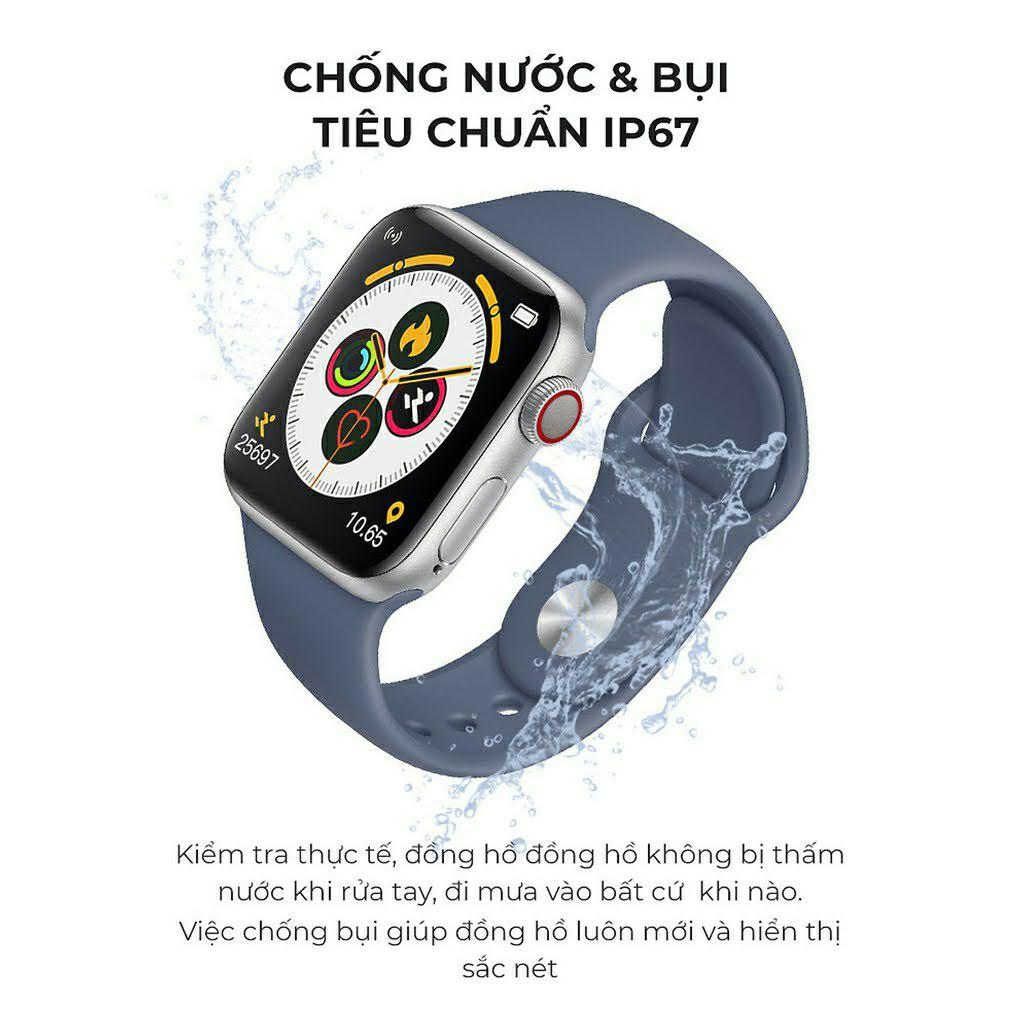 [ Freeship ] Đồng Hồ Thông Minh Cao Cấp | Smartwatch T500 Seri 5 Chống Nước - Đo Nhịp Tim
