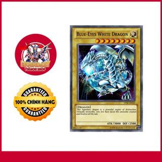 HOT!! [Thẻ Bài Yugioh Chính Hãng] Blue-Eyes White Dragon – Rồng Trắng Mắt Xanh Chuẩn 100% Siêu Hiếm!!!