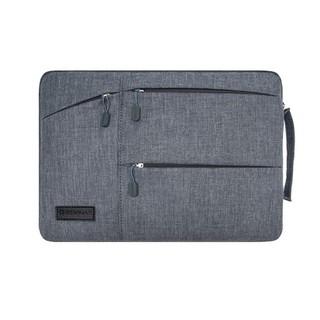Túi Chống Sốc hiệu Gearmax (WIWU) Macbook - Laptop 11 12 13 15inch - Xám thumbnail