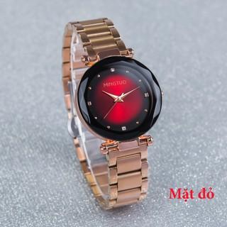 Đồng hồ nữ mingtuo korea MI9166 - dây thép không gỉ cao cấp