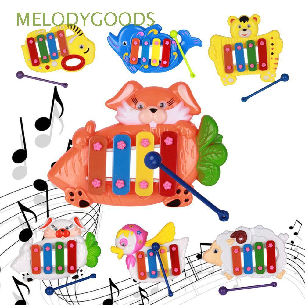 Developmental Intellect Baby Infant Multi-Tones Kids Gift Notation/Guitar/Animals/Lady Beetle