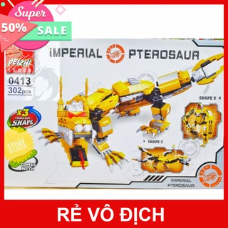 [Hot] Lego Feizhi 0413 Lắp Ráp Rồng Hoàng Gia – Imperial Pterosaur ( 302 Mảnh )- Có Sẵn Hàng