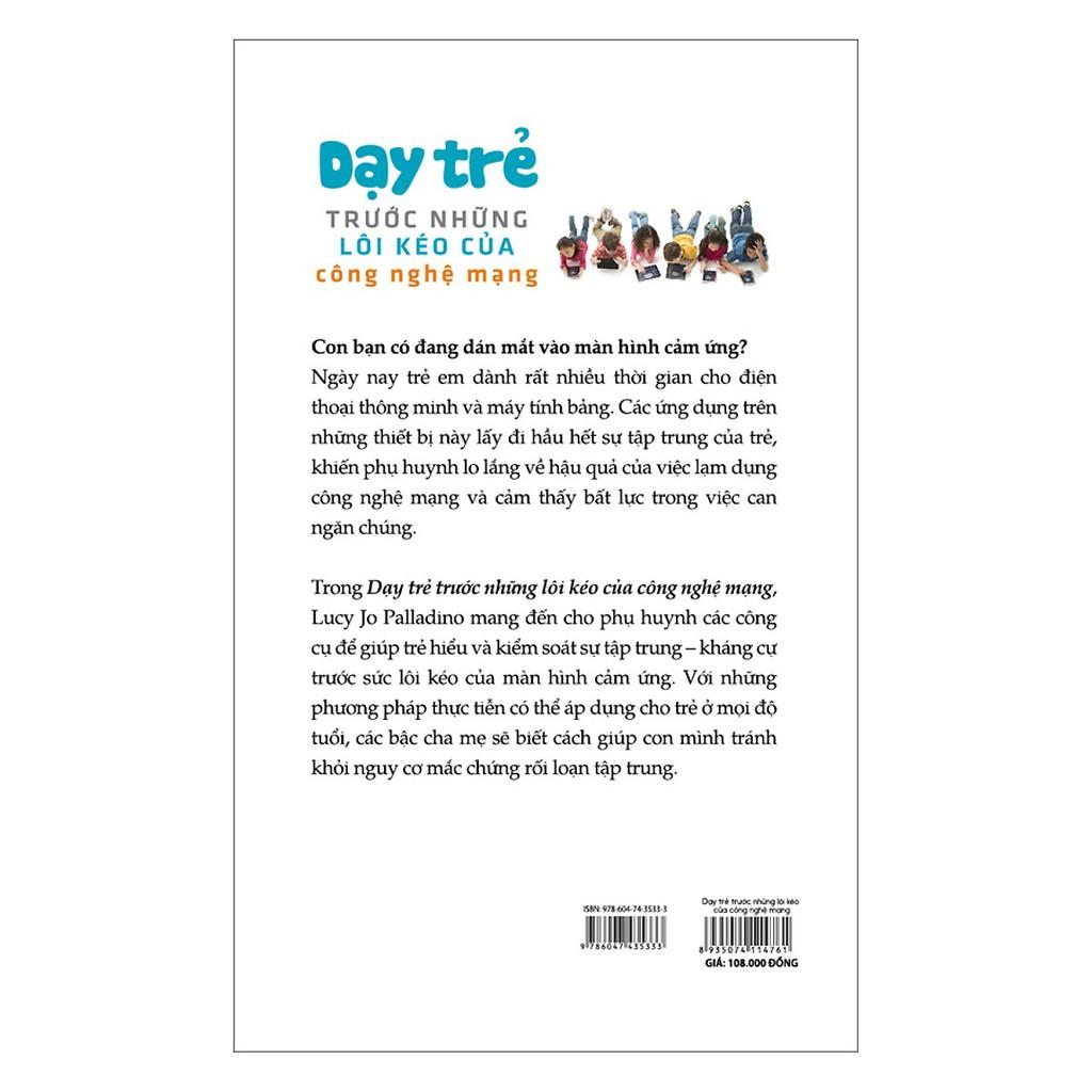 Sách - Dạy Trẻ Trước Những Lôi Kéo Của Công Nghệ Mạng
