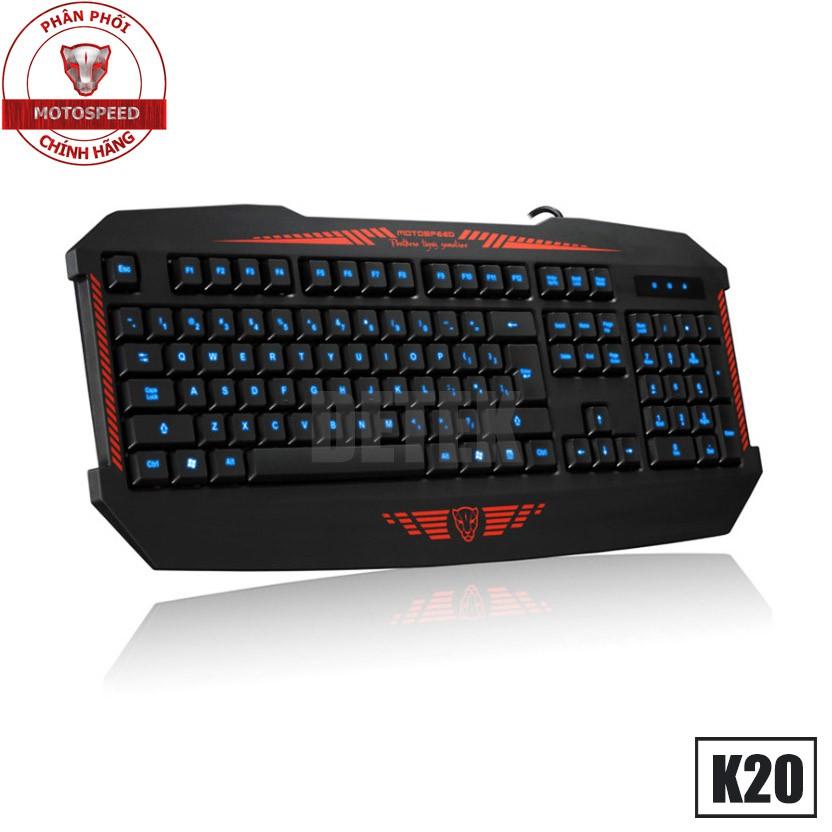 Bàn phím giả cơ Motospeed K20