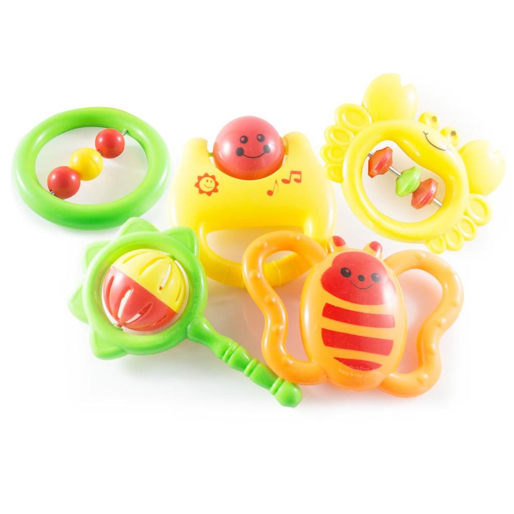 [HTG MART] Hộp đồ chơi xúc xắc nhiều màu cho bé yêu