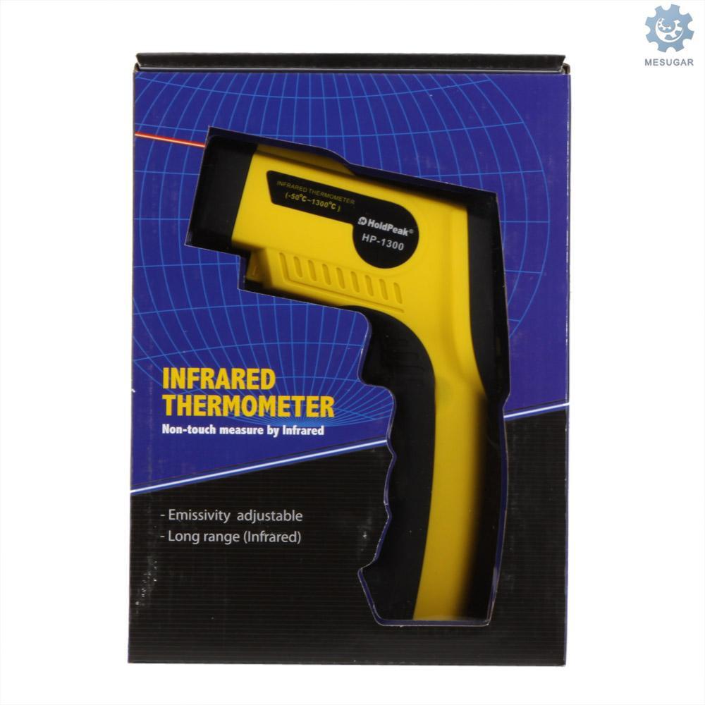 M&S HoldPeak HP-1300 Non-contact 16:1 Infrared IR Thermometer Laser Temperature Gun Sensor Meter Ran
