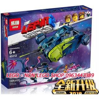 Lego Lepin 45012 ( Xếp hình Phi Thuyền Chiến Đấu Của Rex 1325 khối )