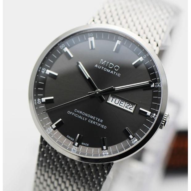 นาฬิกา MIDO Commander II Chronometer M031.631.11.061.00 ของแท้ ประกันศูนย์ 2 ปีนาฬิกาผู้ชาย 2019 นาฬิกาแบรนด์