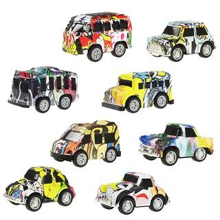 Bộ 8 sản phẩm xe đồ chơi mini bằng hợp kim cho bé