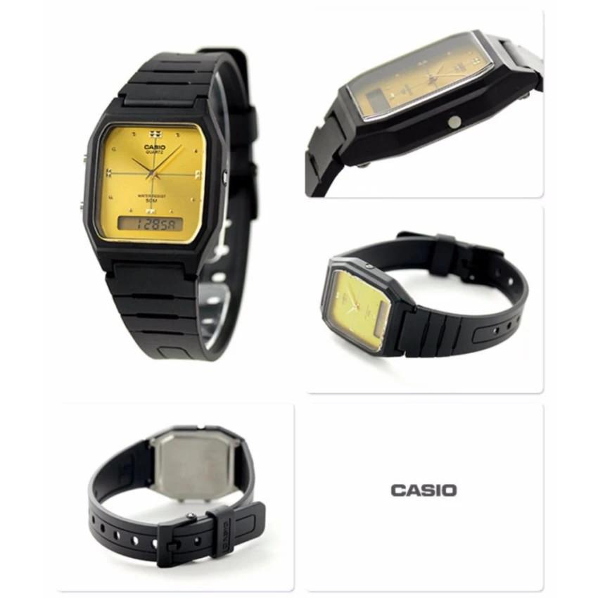 Đồng hồ dây nhựa Casio chính hãng Anh Khuê AW-48HE-9AVDF
