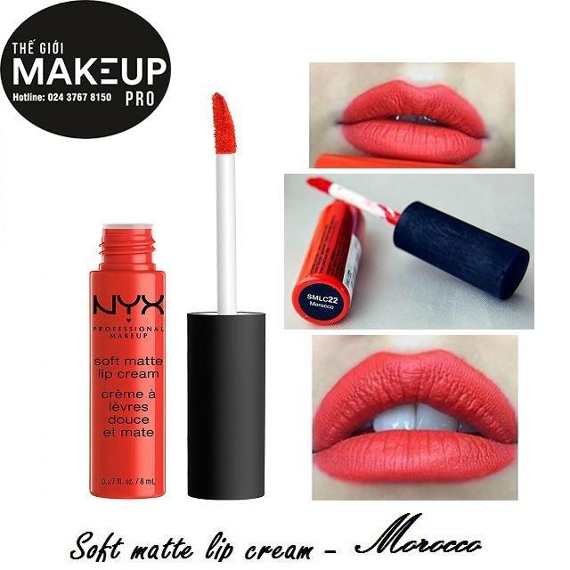 Son kem NYX Soft Matte Lip Cream Morocco SMLC22 - 3492568 , 670583894 , 322_670583894 , 230000 , Son-kem-NYX-Soft-Matte-Lip-Cream-Morocco-SMLC22-322_670583894 , shopee.vn , Son kem NYX Soft Matte Lip Cream Morocco SMLC22