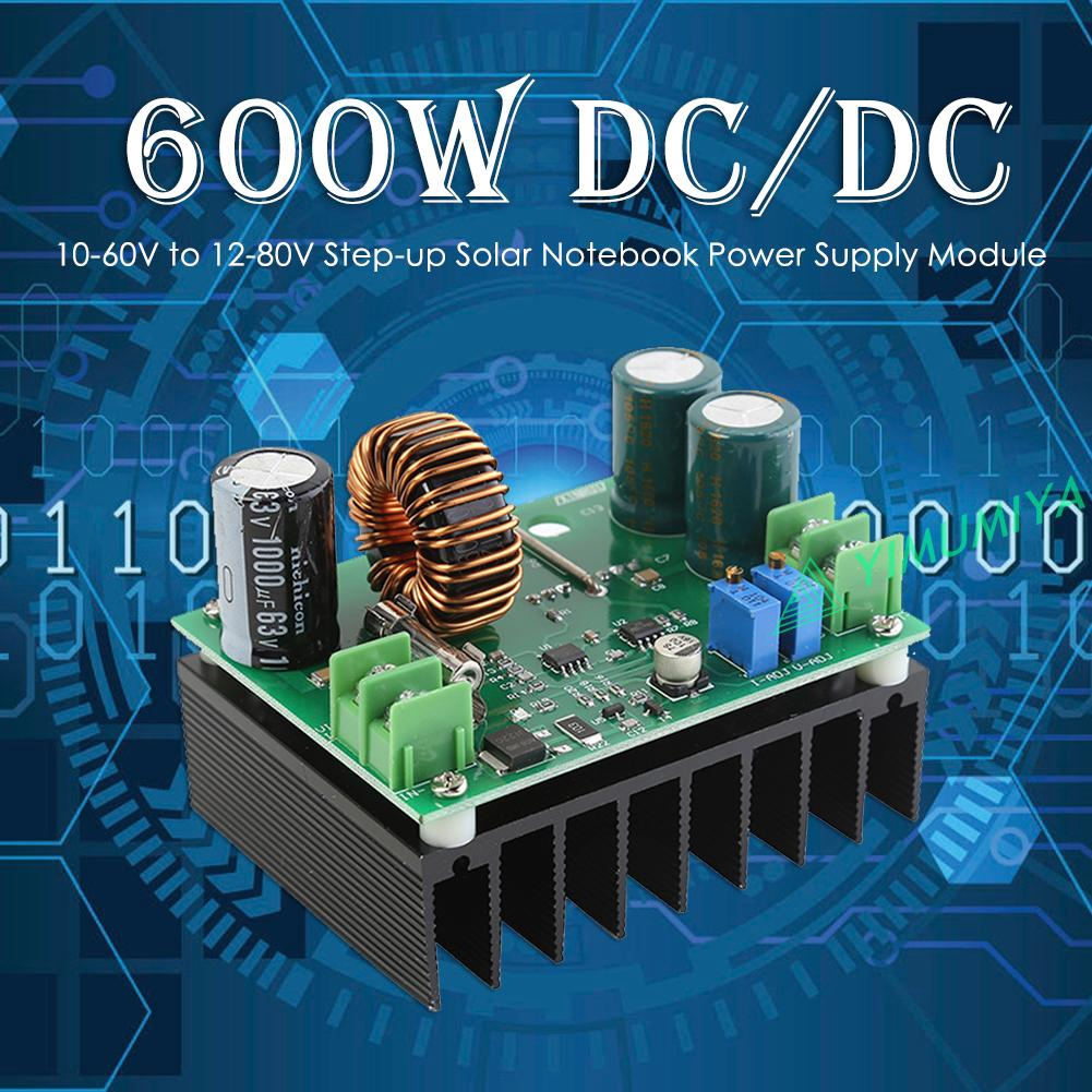 Boost DC-DC Converter Power Supply Step-up Module 12V-60V to 12V-80V 600W 10A