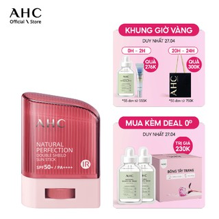 [Mã FMCGM100 - 10% đơn 500K] Kem Chống Nắng Dạng Thỏi - AHC Natural Perfection Double Shield Sun Stick 14g thumbnail