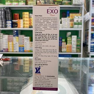 Gel tắm và vệ sinh phụ nữ EXO NANO 100ml 5