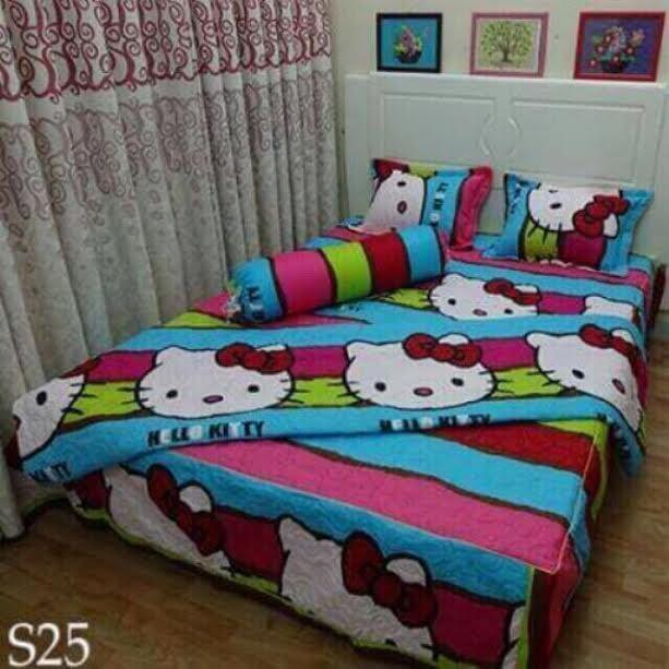 Drap Cotton Nhung (Bộ 4 Món Ga 1m6x2m)