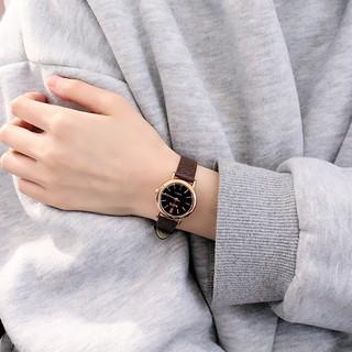 Đồng hồ thời trang nữ dây da mặt tròn RaTe TT41