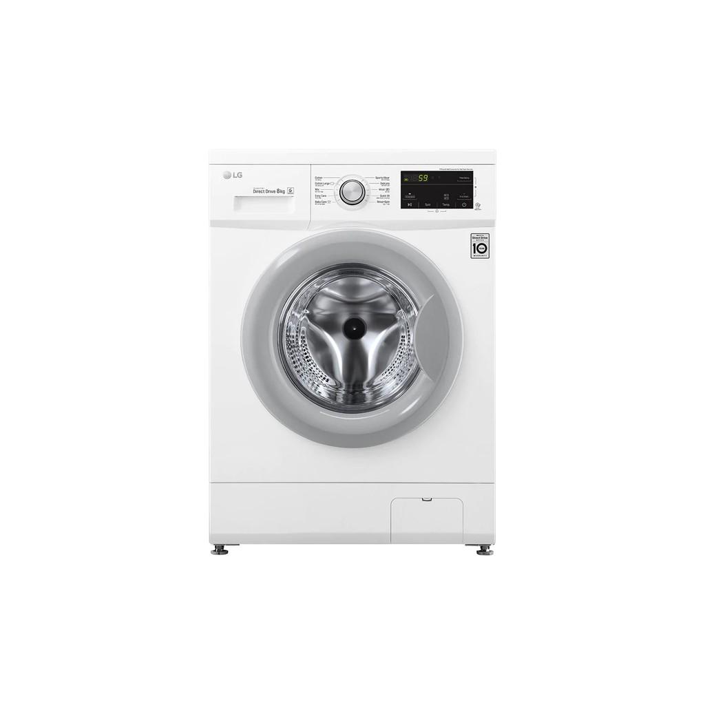 Miễn công lắp đặt - Giao hàng nội thành_Máy giặt LG Inverter 8 kg FM1208N6W - Hàng Chính Hãng