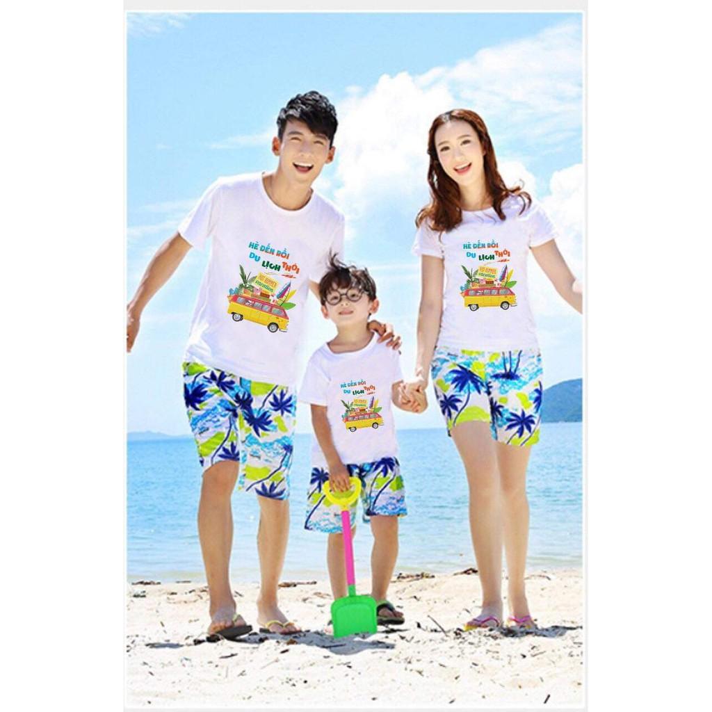 Đồ đi biển,quần áo đồng phục công ty,nhóm và gia đình