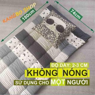 Nệm văn phòng – Nệm cá nhân – Đệm ngủ chần gòn Kim Home tiện lợi chất lượng dành cho một người