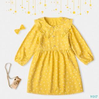 Váy Cho Bé Gái 2 Màu Hoạ Tiết Trái Tim Thời Trang BELLO LAND thumbnail