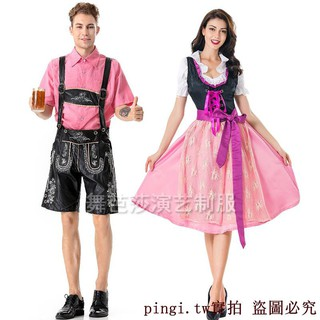 Munich Beer Costume couple costume Bavarian traditional clothing ethnic suit