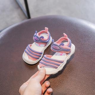 Giày Xăng Đan Hình Sâu Bướm Xinh Xắn Cho Bé Tập Đi