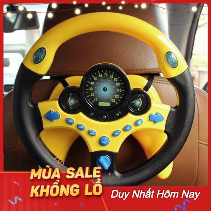 Vô lăng ô tô thông minh quay 360 độ cho bé