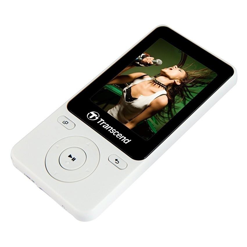 Máy nghe nhạc MP3 Transcend MP710 8GB (Bạc)