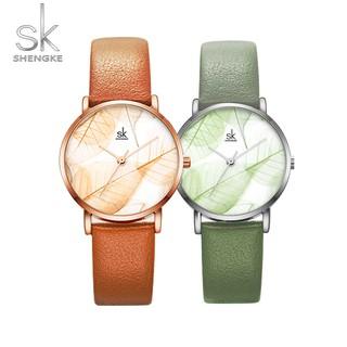 Đồng hồ nữ Shengke Korea K0108L chính hãng thumbnail
