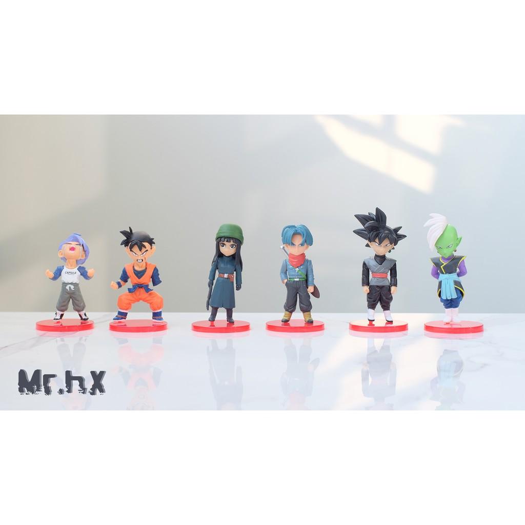 Bộ 6 mô hình Dragon ball Super - Mini Figure