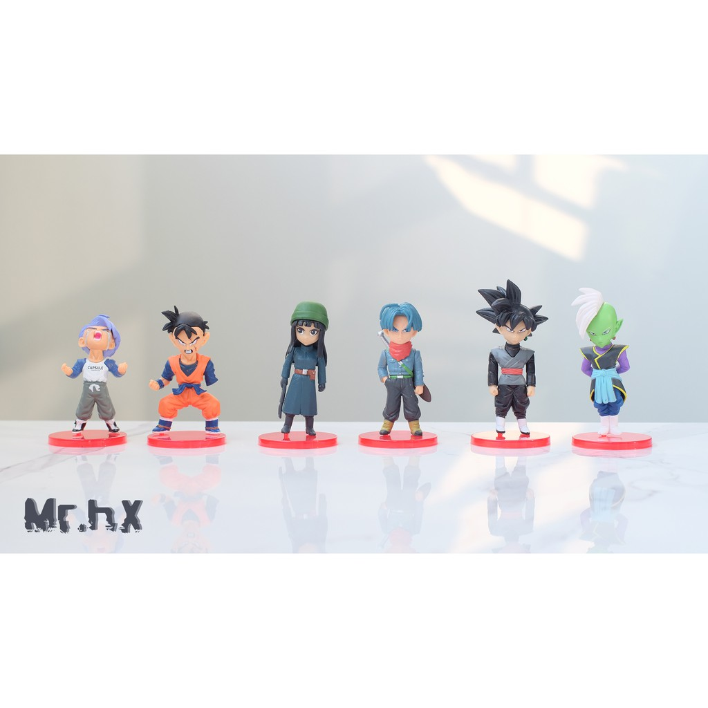 Bộ 6 mô hình Dragon ball Super – Mini Figure