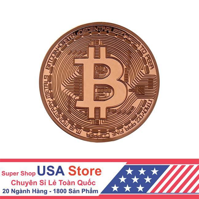 Đồng Tiền Bitcoin Kỉ Niệm (Giao Màu Ngẫu Nhiên) FXE1020