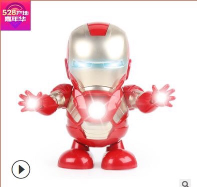 Robot biết hát biết nhảy và xoay 360 độ