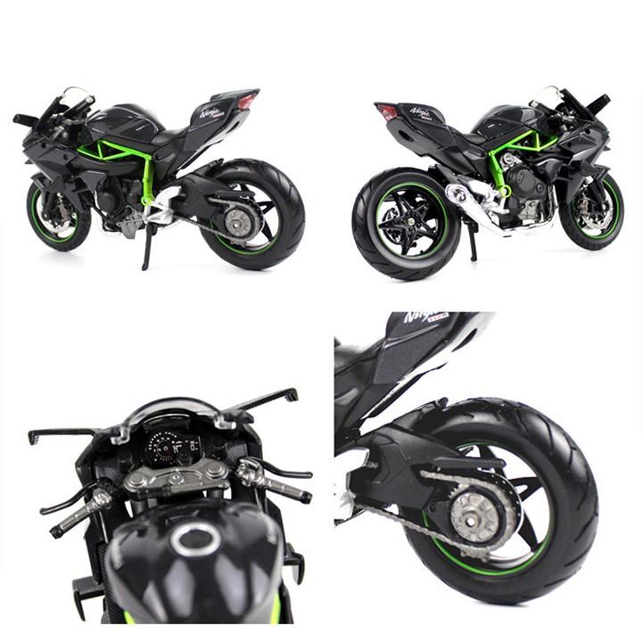 Mô Hình Xe Moto Kawasaki H2R Tỉ Lệ 1:12