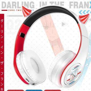 Anime DARLING In The FRANXX Japanese Prompt Tone Wireless Bluetooth Headphones