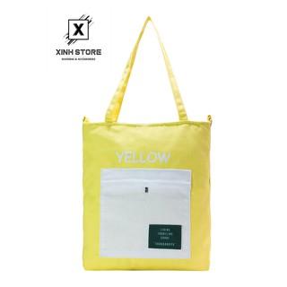 Túi Vải Đeo Chéo Tote Bag Living XinhStore thumbnail