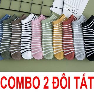 Combo 2 đôi tất ngắn TS644 vải cotton co giãn 4 chiều siêu bền thumbnail