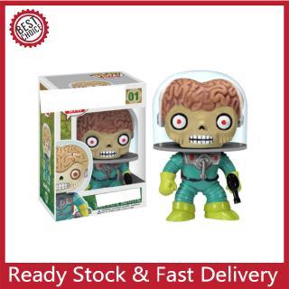 POP Mars Attacks Vinyl Dolls Comics Aliens Doll Figure Model Toys For Children Christmas Gift