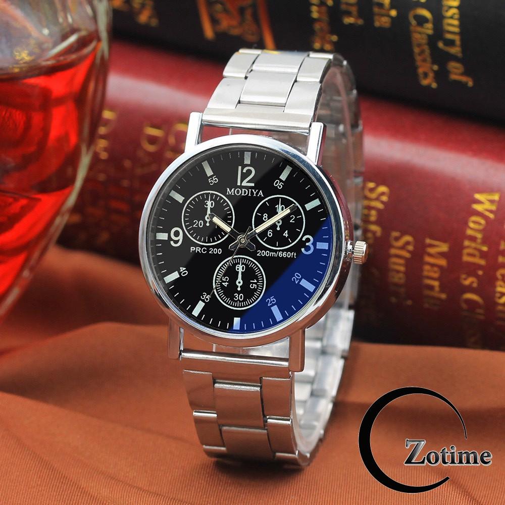 Đồng hồ nam Dotime dây kim loại cao cấp Modiya cực đẹp ZO100