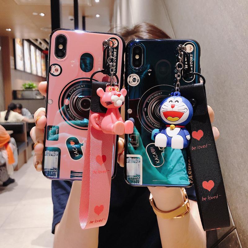 Ốp điện thoại hình máy ảnh độc đáo cho Oppo Realme C2 3 3 2 Pro F11 Pro F11 C1 2 U11 A7 Reno 10 A3S FindX F7 A79 F5 F3