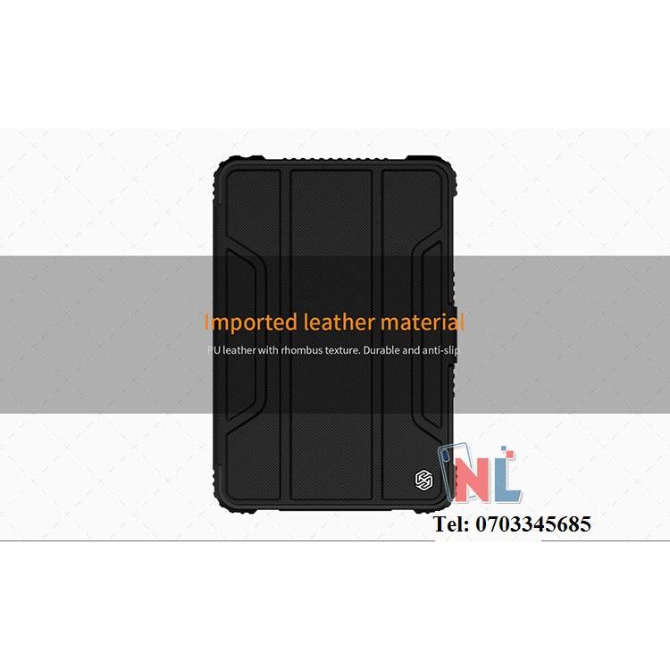Bao da iPad Mini 4 2019 NILLKIN Bumper iPad Leather Cover