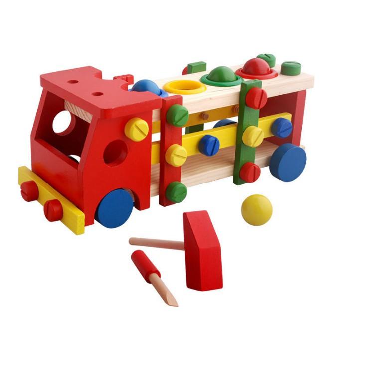 Đồ chơi xe công cụ lắp ráp kèm đập bóng bằng gỗ cho bé - 10016035 , 721953211 , 322_721953211 , 240000 , Do-choi-xe-cong-cu-lap-rap-kem-dap-bong-bang-go-cho-be-322_721953211 , shopee.vn , Đồ chơi xe công cụ lắp ráp kèm đập bóng bằng gỗ cho bé