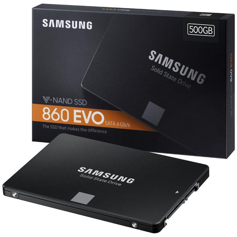 Ổ cứng SSD 2.5 inch SATA Samsung 860 EVO 500GB-Bảo hành 5 năm