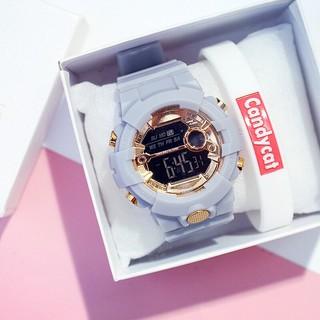 Đồng hồ thời trang nam nữ Sport mặt tròn cực đẹp SRrw79