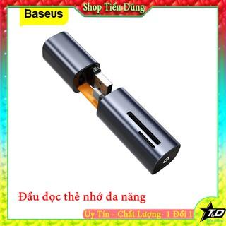 Đầu đọc thẻ Baseus 2 trong 1từ cổng Type C sang SD/Micro SD và chức năng OTG USB cho laptop