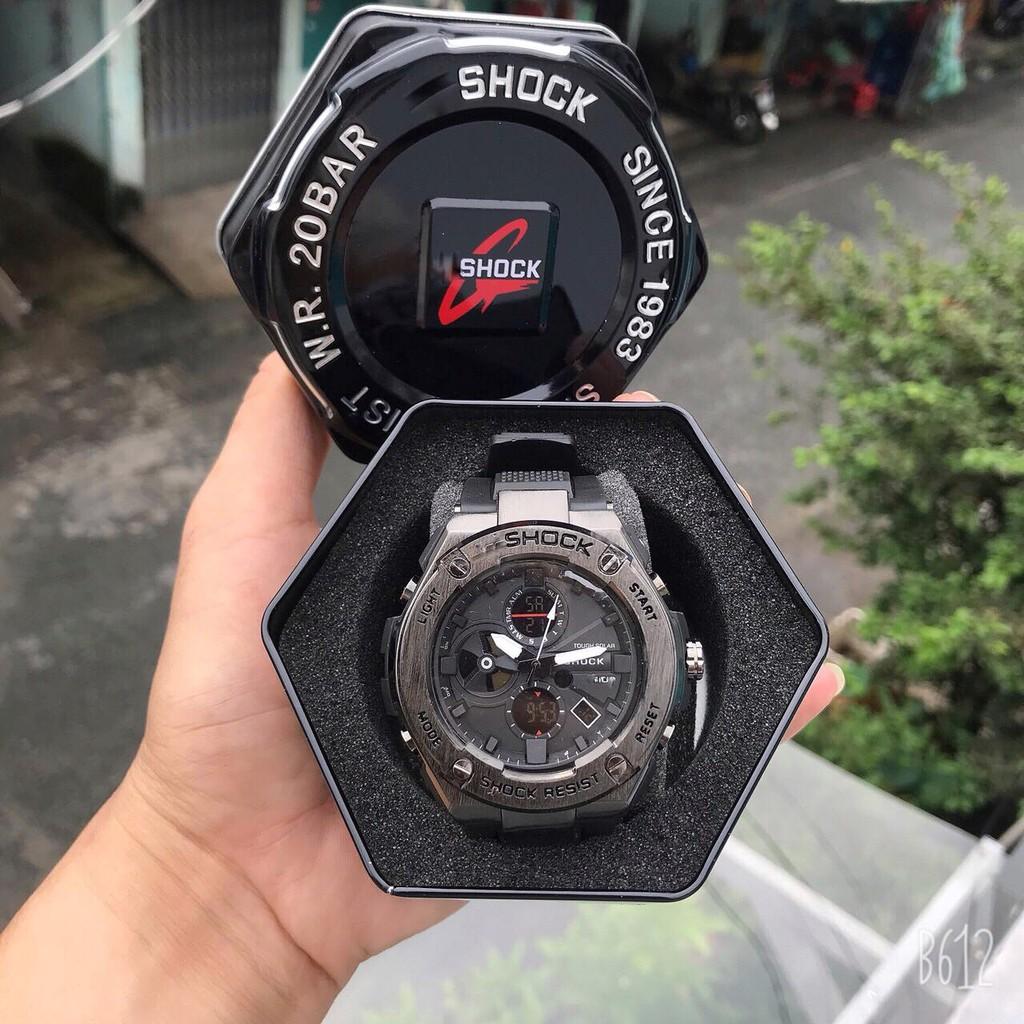 Đồng hồ Nam Thể Thao Shock Nam GST-B100 chống va đập