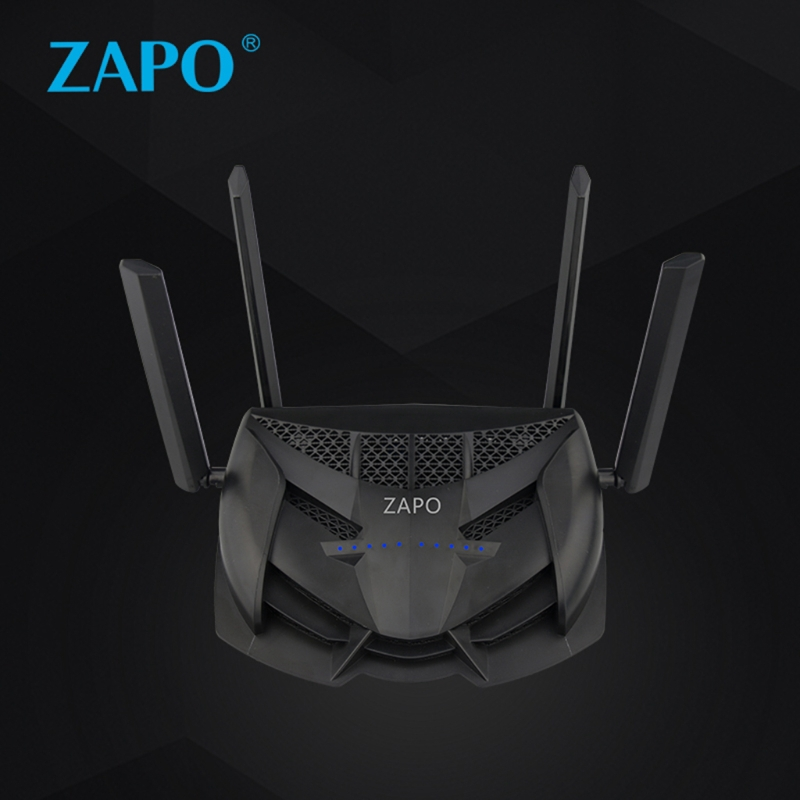 1200Mbps Dual USB Wireless Network AC 2.4GHz/5GHz Router
